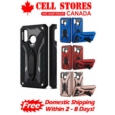 Shockproof Heavy Duty Rugged Defender Hard Stand Case for Samsung A20 A50 A70