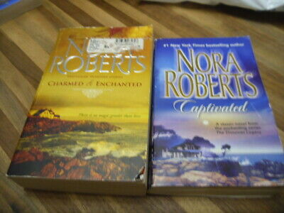 Nora Roberts: The Donovan Legacy- Captivated, Charmed, Enchanted PB's