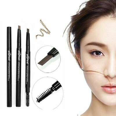 Popfeel 2-In-1 Double-end Waterproof Brown Automatic Eyebrow Pencil Cosmetic P