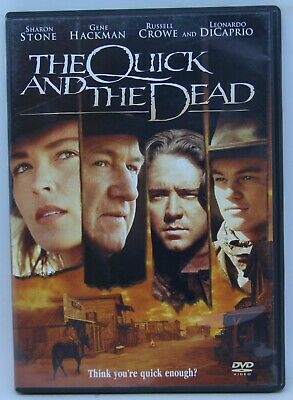 The quick and the dead - DVD - Sharon Stone, Leonardo Dicaprio, Russell Crowe