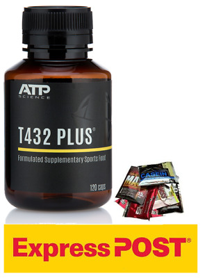 ATP SCIENCE T432 PLUS 60 CAPSULES *free express shipping*