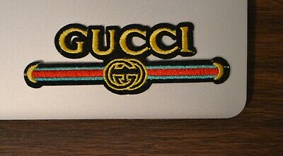 Gucci Style Vintage Iron On Applique/Embroidered Patch Fabric Craft Sew Lot