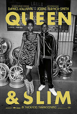 Queen & Slim Movie 2019 Daniel Kaluuya Fabric Poster Decoration 332