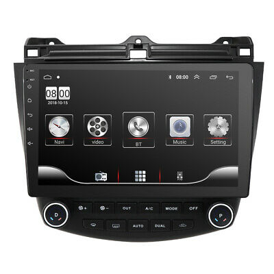 For Honda Accord HD Car Stereo Radio 10.1'' Android 9.1 Quad Core GPS Navigation
