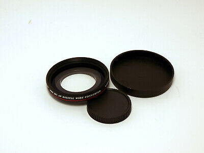 ZOMEI Optical Glass 0.45X Wide Angle Filter Lens Accessory for Camera, 40.5mm