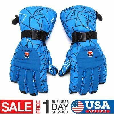 OUTAD Waterproof Winter Ski Gloves Men Winter Snow Skiing Cycle Gloves USA Ra