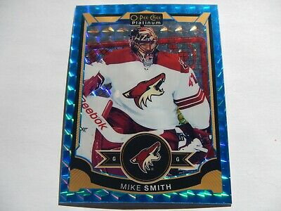 2015-16 O-Pee-Chee Platinum - Mike Smith (Blue Cubes # 73/75) # 13