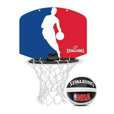 Spalding NBA Logoman Mini Basketball Backboard Set