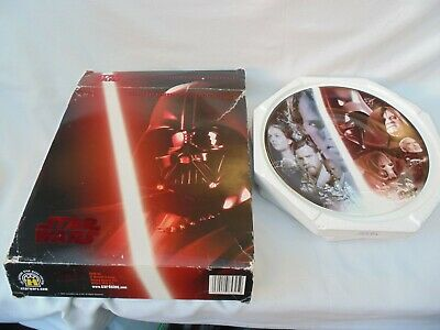 STAR WARS Limited Edition Collector Plate Revenge of the Sith 2005 FREE UK P&P