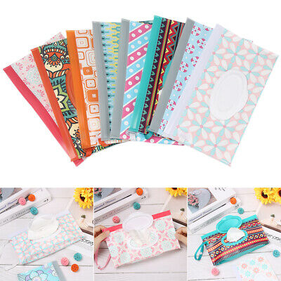 Clean Carrying Case Wet Wipes Bag Home Trendy Pouch Wipes Container Baby New