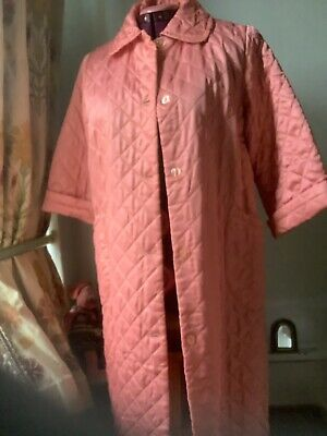vintage quilted dressing gown