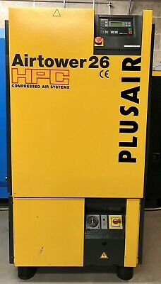 Kaeser / HPC Airtower 26 Rotary Screw Compressor With Dryer! 15.0Kw, 78Cfm!