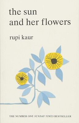 The Sun and her flowers - [Paperback Book] by Rupi Kaur BRAND NEW FREE SHIPPING
