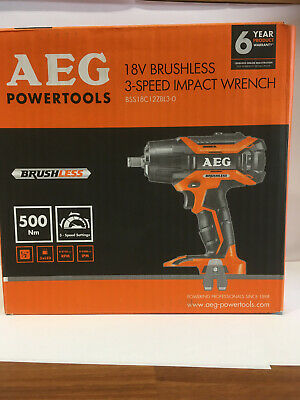 New 18V Brushless 3-Speed Impact Wrench (BSS18C12ZBL3-0)