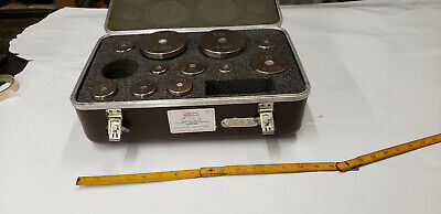 Stainless Steel Scale Calibration Weight Set. View Description 4 List of Sizes