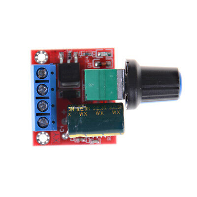 Mini DC Motor PWM Speed Controller 5A 4.5V-35V Speed Control Switch LED YEDE