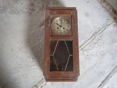 Antique Chime Gabriel Gay Grenoble 1 Hammer Gong Movement Kienzle Old Clock