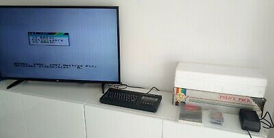 Boxed Sinclair Zx Spectrum +2 128K Police Pack Near Mint In Box Tested Working !