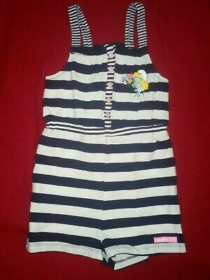 H&M Smurfs Cartoon Character Playsuit size US 1.5-2 Years