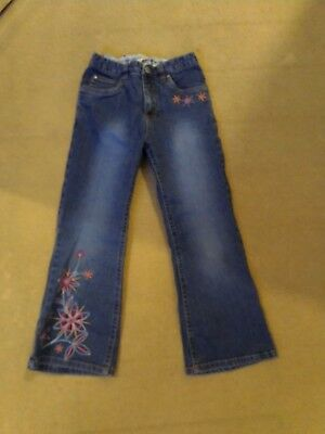 GIRLS BLUE H&M JEANS AGE 5 YEARS Good Condition No Marks