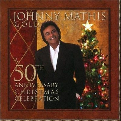 Gold: A 50th Anniversary Christmas Celebration by Johnny Mathis CD Bette Midler