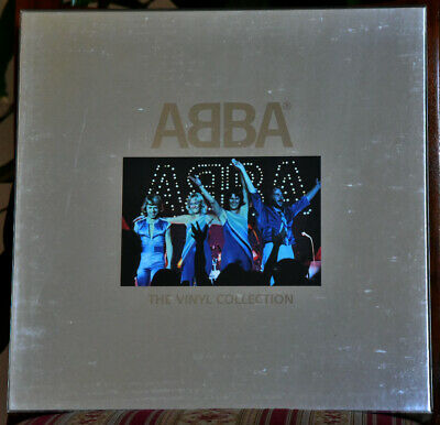 AUDIOPHILE POLAR GERMANY ABBA The Vinyl Collection #9 x 180g BOX SET - Dec 2010