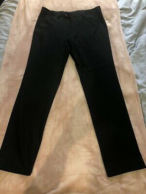 Next Smart Black Suit Trousers 34/34