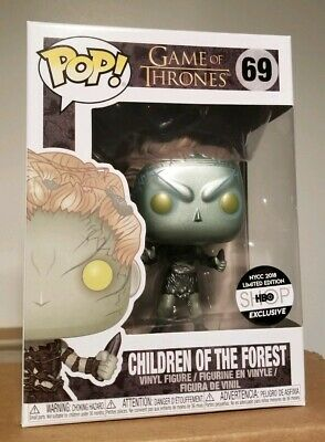 Funko Pop Metallic Children Of The Forest HBO Exclusive #69 Game of Thrones