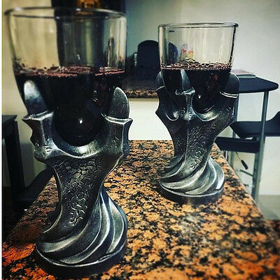 Dragon Glass Holder Wine Goblet Decor Glass Cup Halloween For Game of Thrones