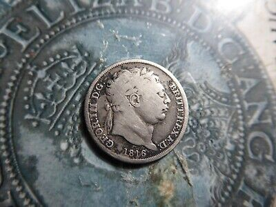 sixpence coin 1816 l2