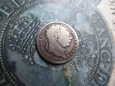 sixpence coin 1816 l3
