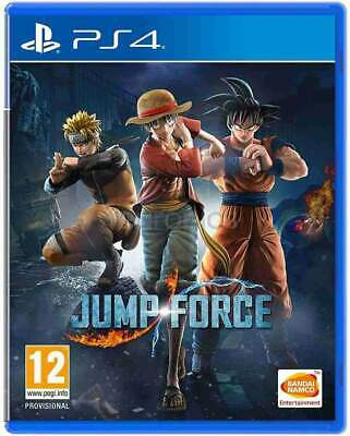 Jump Force PS4 (Sony PlayStation 4, 2019) Brand New - Region Free