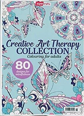 Creative Art Therapy Collection, Colouring For Adults A4 size