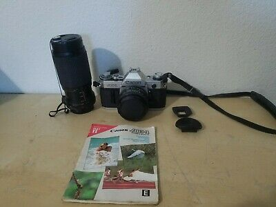 Canon AE-1 Program Camera Outfit with FD 50mm F/1.8 Lens - Great Conditions !