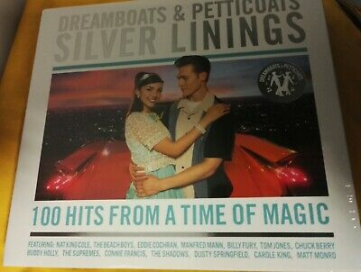 Dreamboats and Petticoats - Silver Linings 4 xCD