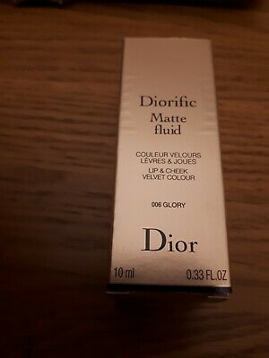 Dior Red Lip Cheek Diorific Matte Fluid 006 Glory