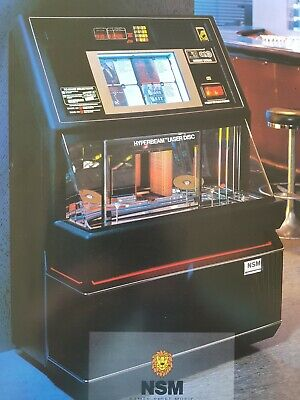 Jukebox, NSM , Includes 100 CD's, coin operated good working condition.