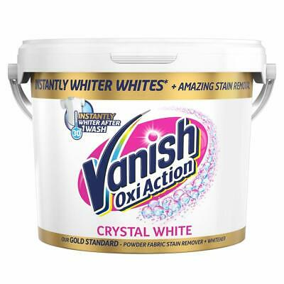 Vanish Gold Fabric Stain Remover Oxi Action Powder, Whites - 2.4kg