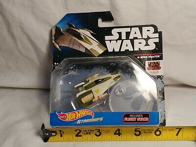 Hot Wheels Starships Star Wars Rebels A-Wing Fighter 2016