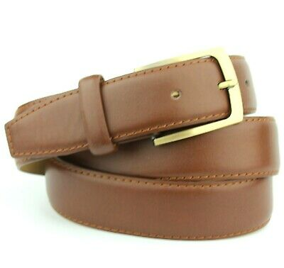 """NEW MENS BLACK BROWN OR TAN LEATHER LINED BELT 5056 SIZE XL 42/"""" WAIST NWT"""