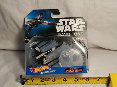 Hot Wheels Starships Star Wars Rogue One Partisan X-Wing Fighter 2016