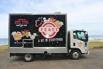 mobile food truck business. for sale