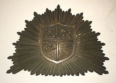 Early Shako HAT PLATE Sunburst US Army PRECivil War Badge Medal Mexican 1812
