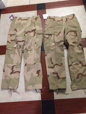 Lot Of 2 Men's Propper BDU Ripstop Military Trouser BTN Fly Size MR F5201273 NOS