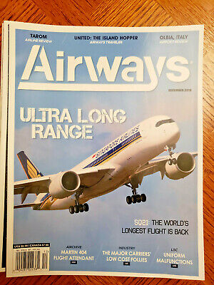AIRWAYS MAGAZINE, December 2018 - Singapore Airlines