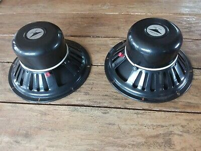 Realistic 2 Way Speakers Pair Vintage Radio Shack Made In USA Untested