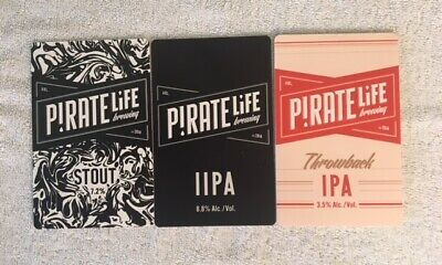 Tap Beer Decals Pirate Life Badge Top Decal Topper Mancave ex Pub Stock