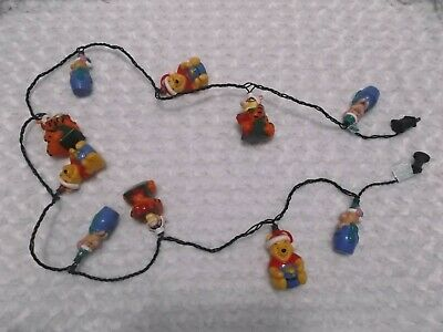 Winnie the Pooh Christmas Lights Holiday Tigger Piglet