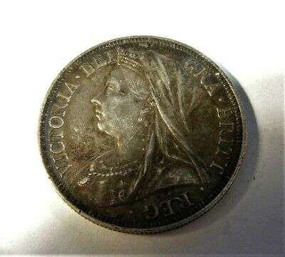 Great Britain 1901 Silver Florin Sb1