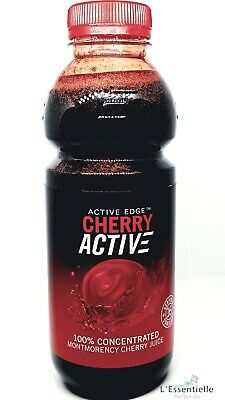 Cherry ACTIVE 100% Concentrated CHERRY Juice 473ml Active Edge